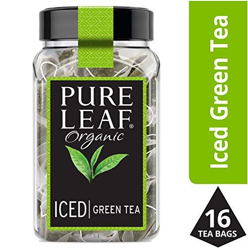 Pure Leaf Iced Tea Bags, Organic Green Tea, 16 ct Pack of 6