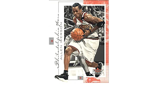 2000-01 Fleer Genuine #60 Allen Iverson at Amazons Sports Collectibles Store