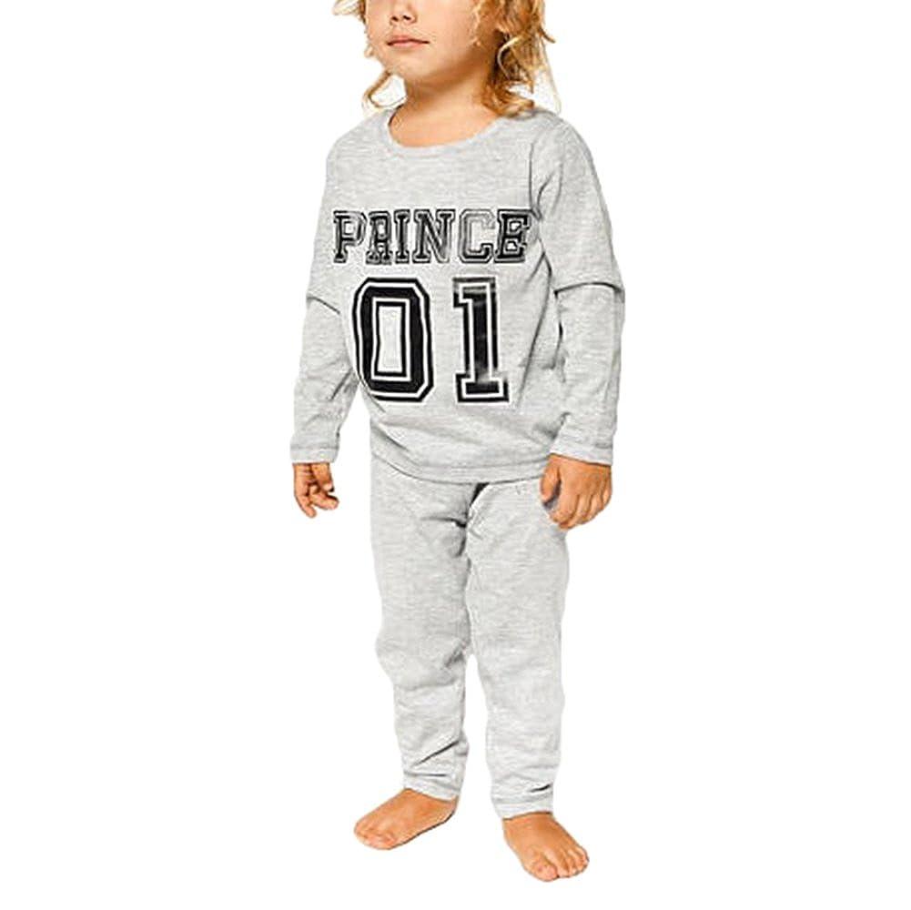 Juleya Familie Passende Pyjamas Langarm Top & Lange Hosen Hose Nachtwäsche Größe S-XXL M171228QZSY-J