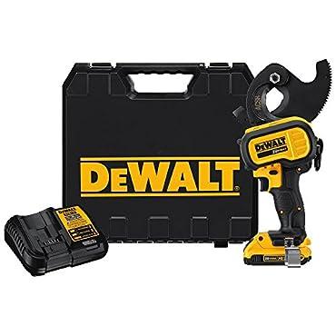 DeWalt DCE155D1 20V MAX Cordless ACSR Cable Cutting Tool Kit