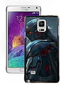 Beautiful Designed Case With Ultron in Avengers Age of Ultron Black For Samsung Galaxy Note 4 N910A N910T N910P N910V N910R4 Phone Case