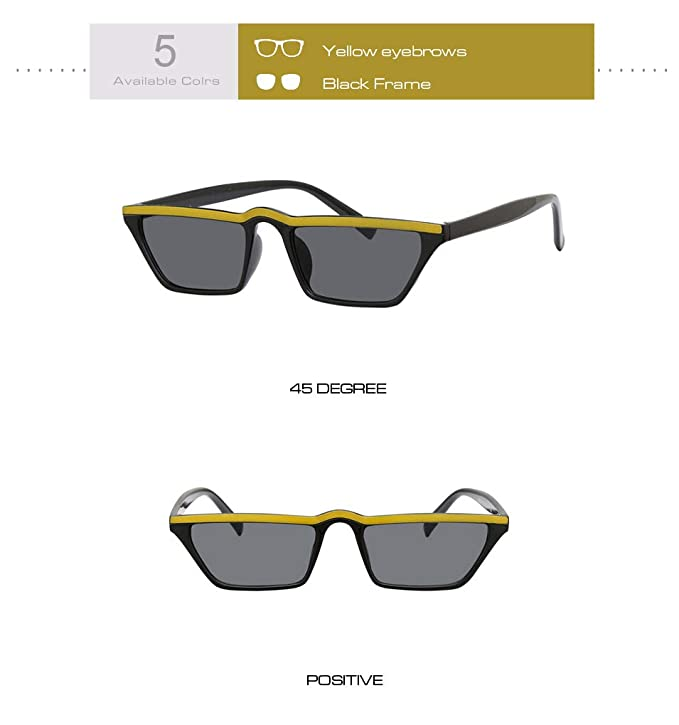 IHGBLIU Gafas de Sol Pequeño Cuadrado Sonnenbrillen Damen ...