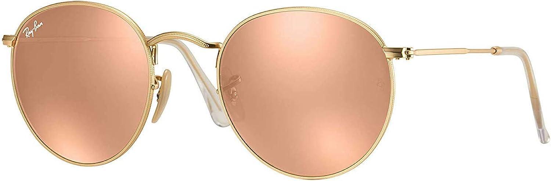 ray ban round metal rb3447 pink