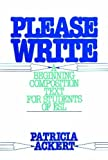 Please Write 1st Edition