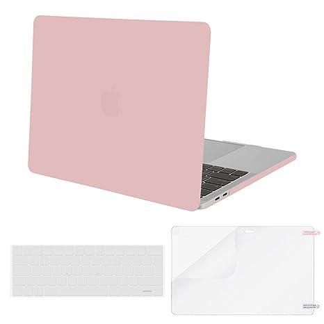 MOSISO Funda Dura Compatible con 2019 2018 2017 2016 MacBook ...