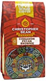 Christopher Bean Coffee Flavored Whole Bean Coffee, Cinnamon Pecan Brownie, 12 Ounce