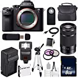 Sony Alpha a7S II a7S Mark II a7SII ILCE7SM2/B Mirrorless Digital Camera (International Model no Warranty) + Sony E 55-210mm f/4.5-6.3 OSS E-Mount Lens (Black) + 49mm Filter Kit 6AVE Bundle 120