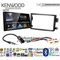 Volunteer Audio Kenwood DMX7704S Double Din Radio Install Kit with Apple CarPlay Android Auto Bluetooth Fits 2006-2009 Nissan 350Z