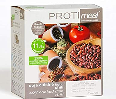 Protimeal - Chili con carne, proteínas vegetales: Amazon.es ...