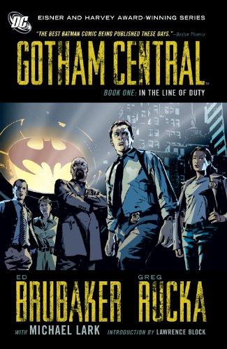 gotham central book - 2