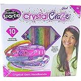 Cra-Z-Art Shimmer N Sparkle Crystal Craze Design And Dazzle Clutch Or Crystal Gem Headbands