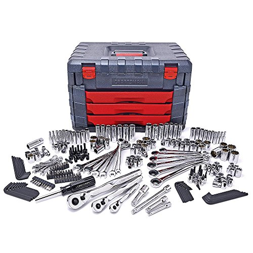 Craftsman 254 PC Mechanics Tool Set with 75 Tooth Ratchet by Craftsman