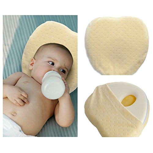 Baby Pillow : Soft Head Shaping Pillow For Newborns And Infa