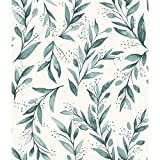 York Wallcoverings ME1536 Magnolia Home Vol. II Olive Branch Weekends (Teal)