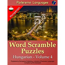 Parleremo Languages Word Scramble Puzzles Hungarian - Volume 4