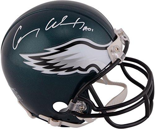 Carson Wentz Philadelphia Eagles Autographed Riddell Mini Helmet - Fanatics Authentic Certified - Autographed NFL Mini Helmets (Helmets Philadelphia Autographed Eagles)