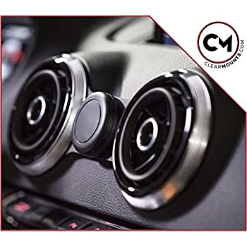 magnetic cell phone holder by clearmounts audi a3 s3 rs3 8v 2014 2018 cell. Black Bedroom Furniture Sets. Home Design Ideas