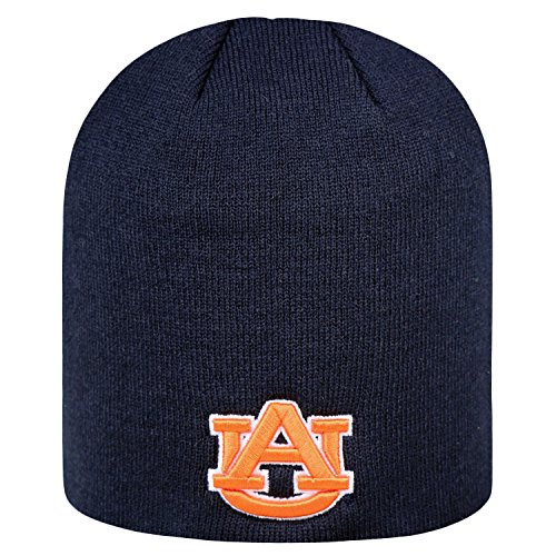 Top of the World NCAA Classic Knit Beanie Hat-Auburn - Tigers Auburn Merchandise