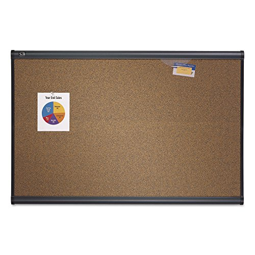 Quartet B247G Prestige Bulletin Board, Graphite-Blend Cork, 72 x 48-Inches by Quartet