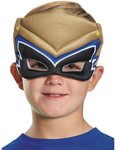 [Power Ranger Dino Puffy Mask] (White Dino Ranger Costume)