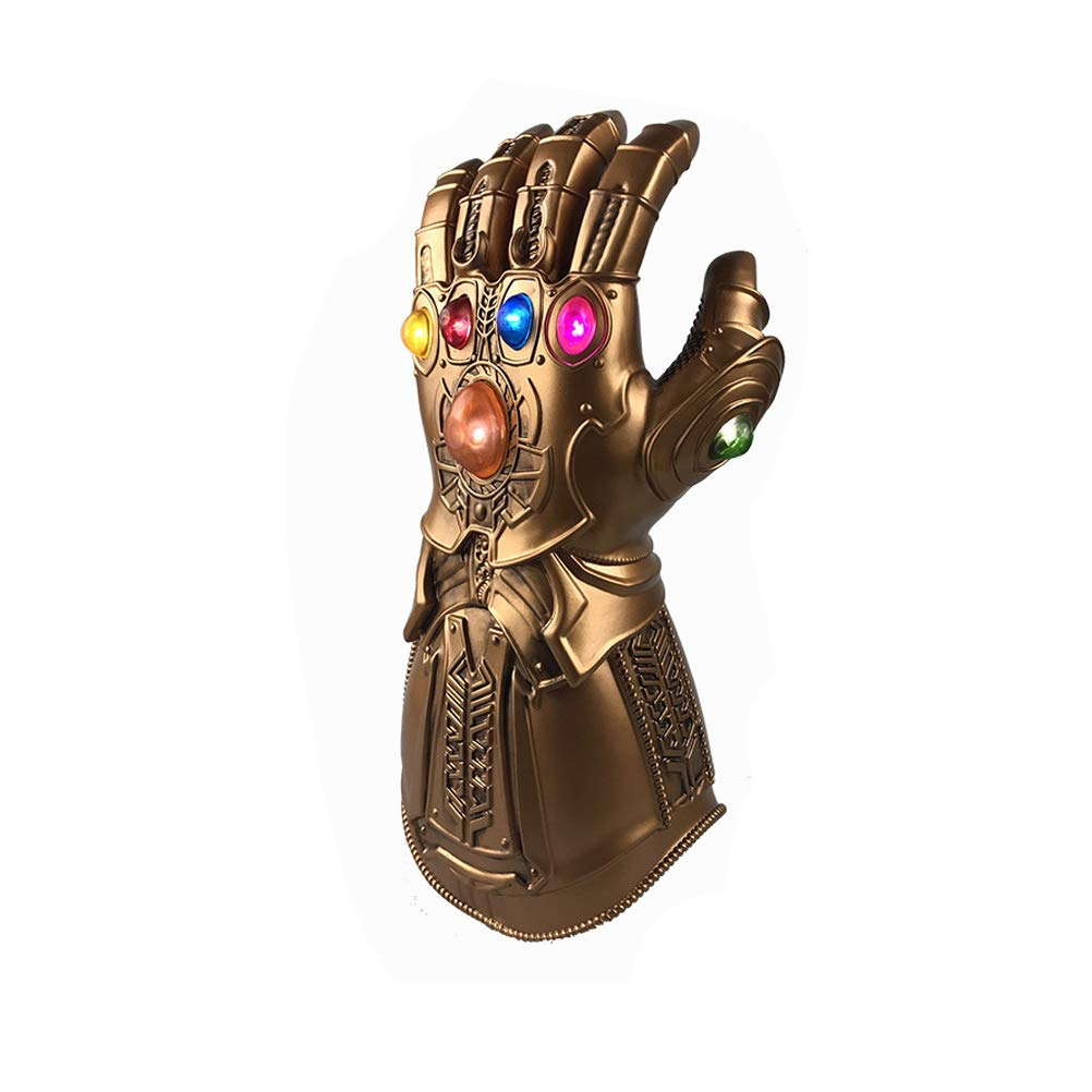 LED Light Thanos Infinity Gauntlet Avengers Infinity War Cosplay LED Gloves PVC Action Figure Model Toys Gift Halloween Props Keep Comfort CQHL5DHA016A1040VBHF