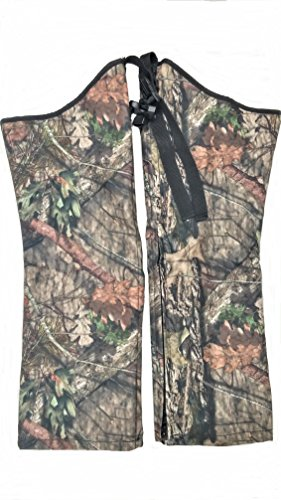 - Snake Chaps for Kids - Youth Size Snake Chaps - Snake Bite Protection for Children (Mossy Oak, Large Stocky)
