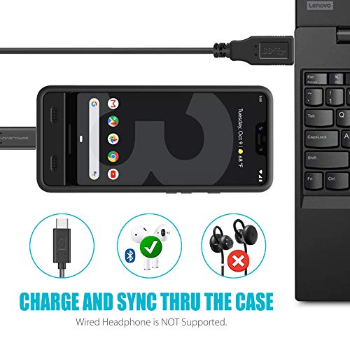 Google Pixel 3 XL Battery Charging Case, ZeroLemon Ultra Power 8500mAh Extended Rechargeable Battery with Soft TPU Case for Google Pixel 3 XL - Black by ZEROLEMON (Image #2)