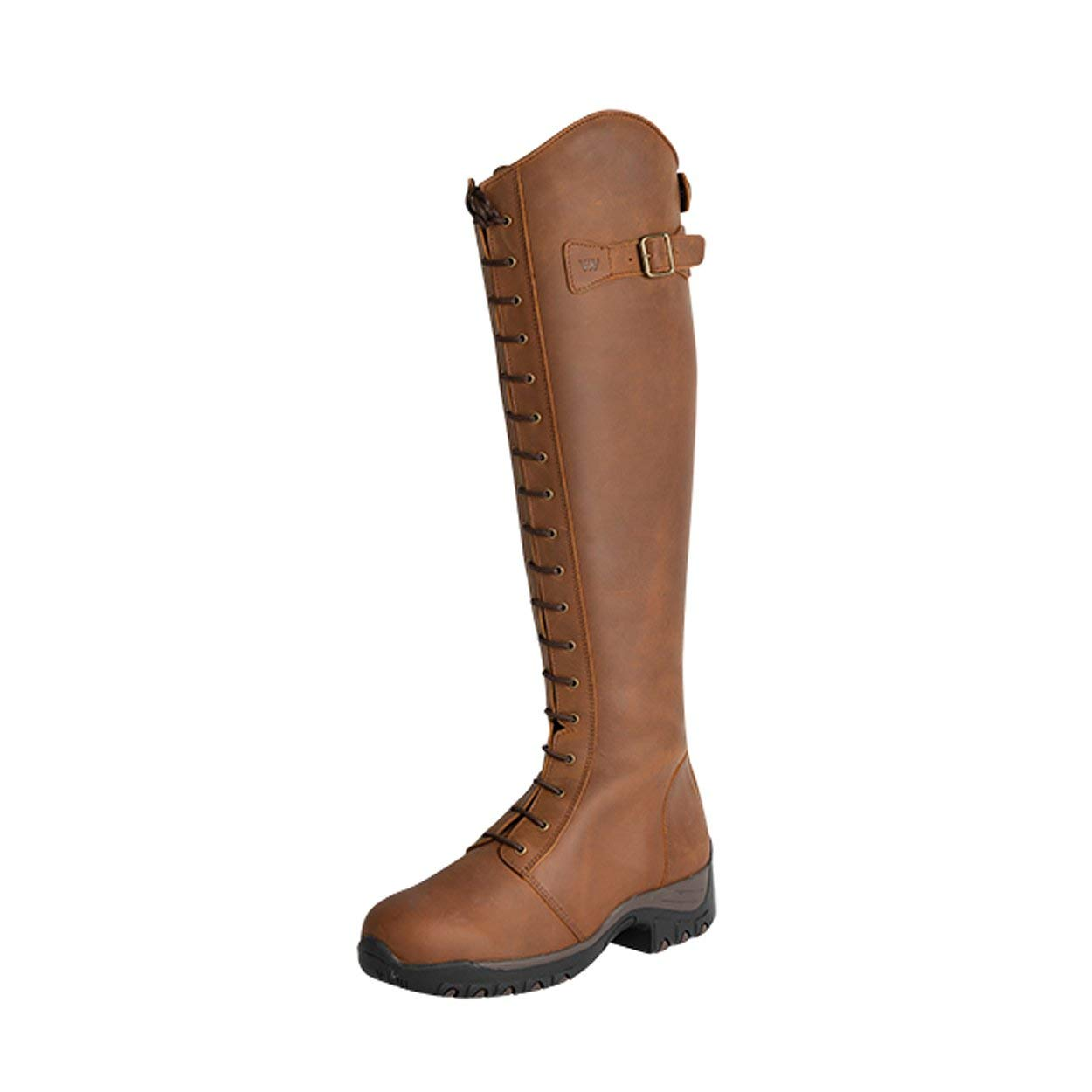 Cognac Woof Wear Fonte vert Marvao Long Riding bottes 43 EU