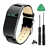 Accessory for Fitbit Charge HR Strap, Adjustable Watch Replacement Accessories Bands for Fitbit Charge HR/Charge HR Band, Black(No Tracker)