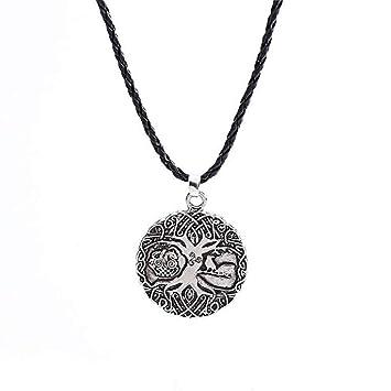 Scpink Collar Amuleto, Potente Mejor Nudo de Cadena de ...
