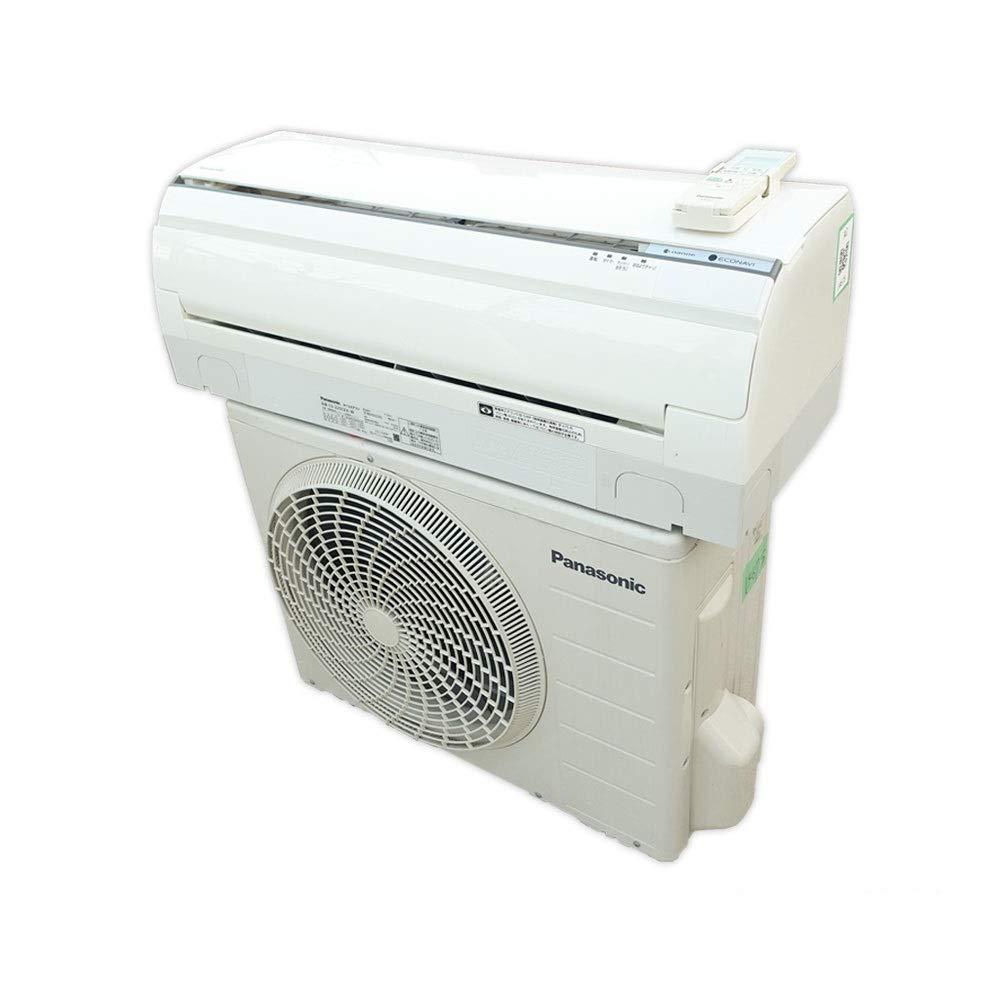 パナソニック ルームエアコン 冷房時おもに6畳用 単相100V クリスタルホワイト 《2015年モデル EXシリーズ》 CS-225CEX-W   B00V7LYW5A