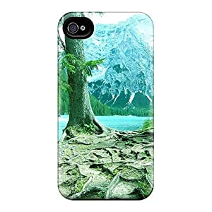 Awesome Design Lago Di Braies Hard Case Cover For Iphone 4/4s