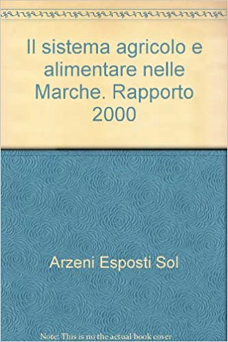Book Il sistema agricolo e alimentare nelle Marche. Rapporto 2000