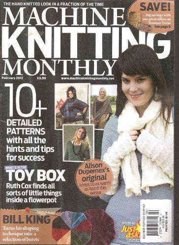 - Machine Knitting Monthly Magazine (February 2012)