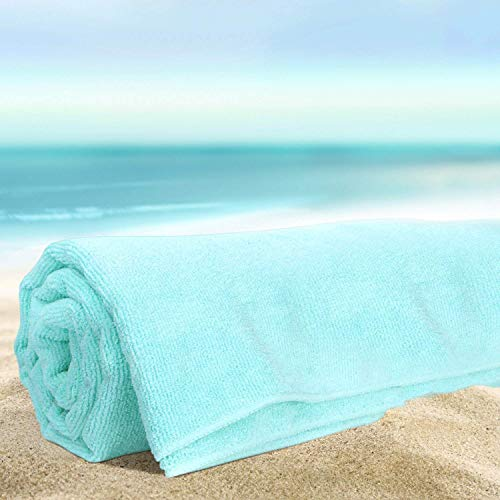 Fisbexy Super Absorbent Beach Towel Mantis Dance and Sun Polyester Velvet Beach Towels by Fisbexy (Image #1)