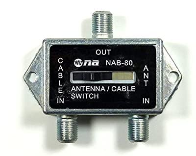 Philmore Coaxial A/B Game Antenna Cable TV CATV Switch
