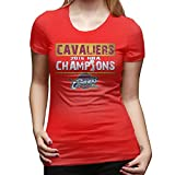 2016 The Finals Championship Cleveland Cavaliers Women's Cotton T-shirt Black