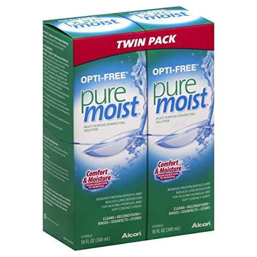 Opti-Free дезинфицирующий раствор, универсальный, Twin Pack 2 - 10 жидких унций (300 мл) бутылок