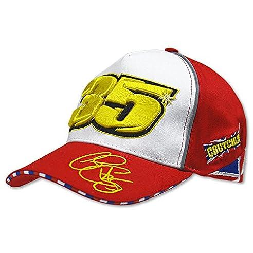 Cal Crutchlow Rote Kappe mit Zahl 35  Amazon.de  Sport   Freizeit 44d0297482