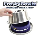 insulated water bowl - FrostyBowlz 28-Ounce Chilled Dog and Cat Bowl
