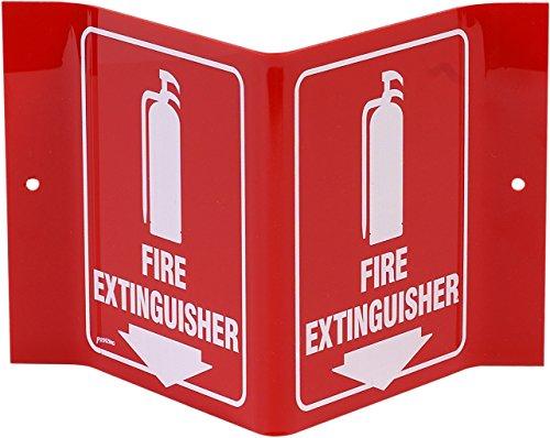 Brady White Standard Legend Extinguisher