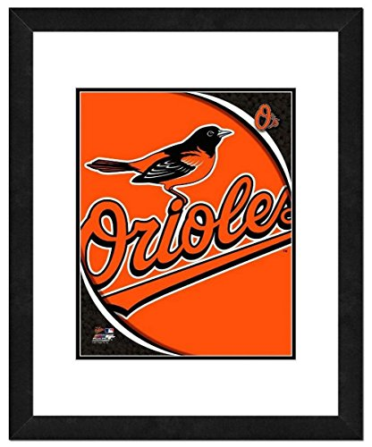 Photo File Baltimore Orioles Team Logo Framed Print Picture Artwork 18x22 MLB MD by Photo File