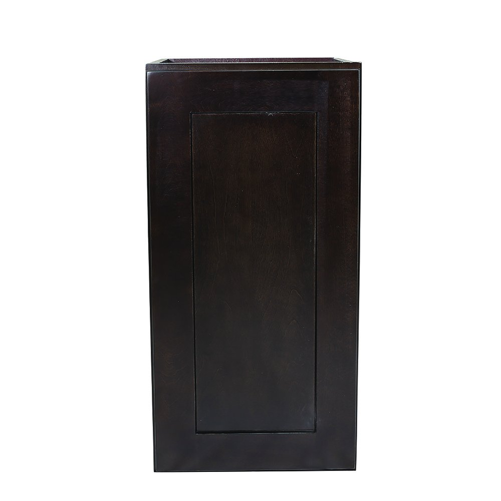 Design House 568972 Brookings Fully Shaker Wall 15x36x12, Espresso Assembled Kitchen Cabinets,