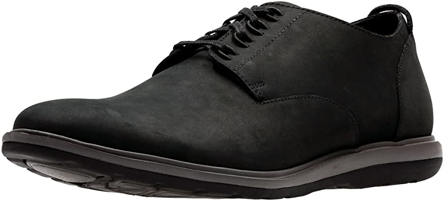 TALLA 39.5 EU. Zapatos Derby Clarks Glaston A Pie para Hombre