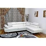 Amazon.com: White - Living Room Sets / Living Room Furniture: Home ...