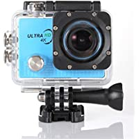 Becoler Waterproof WIFI Sports Action Camera 14MP 2.0-Inch HD Diving Sports Camera with Battery and Accessories Kit Included,Blue(Memory Card Not Included)