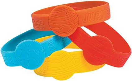 Fun Express Space Party Rubber Bracelets 12 Piece Pack Oriental Trading Company 13773203