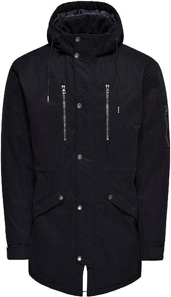 Enorme Maestro Freccia  Only & Sons NOS Onsklaus Parka Winter Jacket Noos Uomo, Nero (Black Black),  Medium: Amazon.it: Abbigliamento
