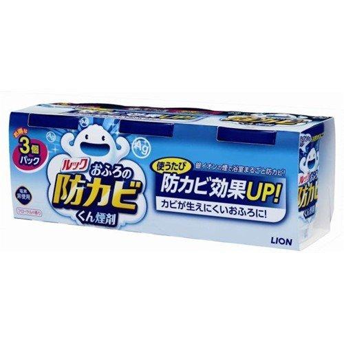 【ライオン】ルック おふろの防カビくん煙剤 5g×3個パック ×10個セット B00W0GR1XG