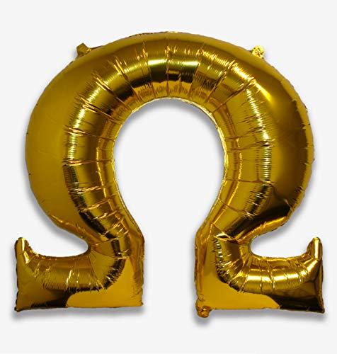 Omega - Greek Letter Balloon